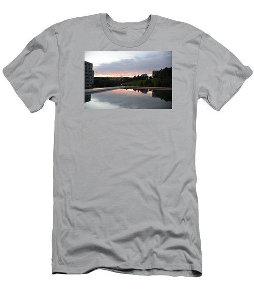 Blue Visions 2 Men's T-Shirt (Slim Fit) by Teo SITCHET-KANDA