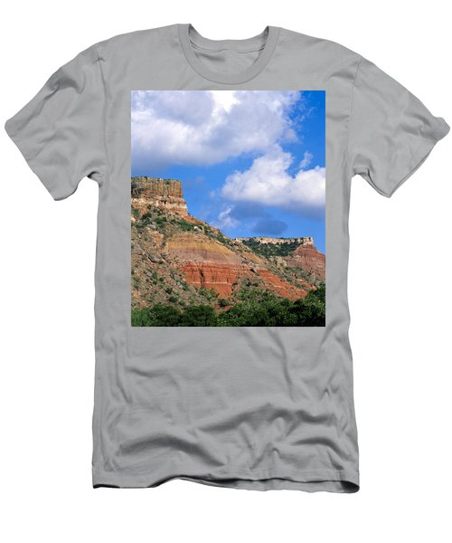 Bluffs In The Glass Mountains Men's T-Shirt (Athletic Fit)