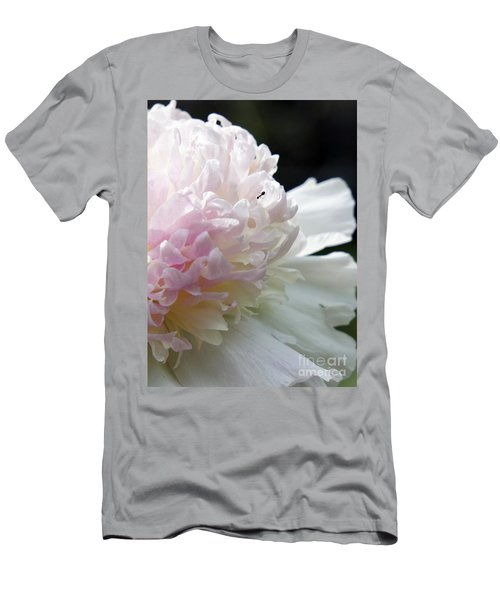 Blushing Peony  Men's T-Shirt (Athletic Fit)