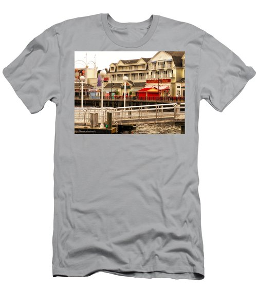 Boardwalk Bakery Walt Disney World Men's T-Shirt (Athletic Fit)