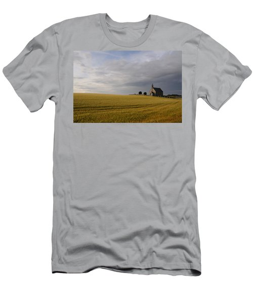Boarhills Church Men's T-Shirt (Slim Fit) by Jeremy Voisey