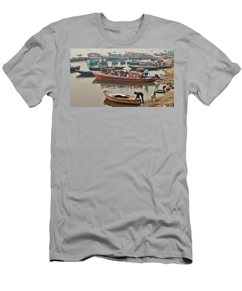 The Journey - Varanasi India Men's T-Shirt (Athletic Fit)