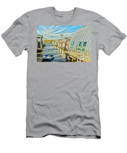 Boathouse Alley Men's T-Shirt (Athletic Fit)