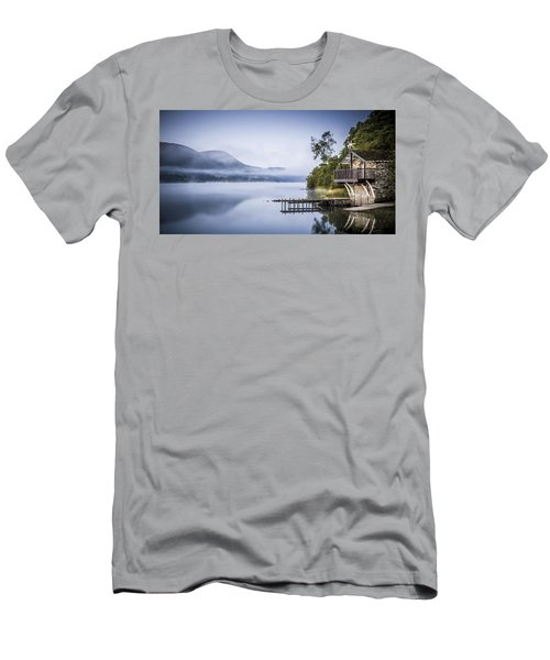 Boathouse At Pooley Bridge Men's T-Shirt (Athletic Fit)