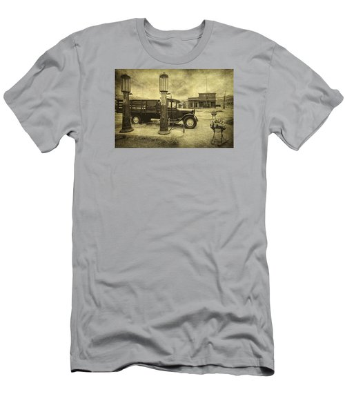 Men's T-Shirt (Slim Fit) featuring the photograph Bodie Memories by Priscilla Burgers