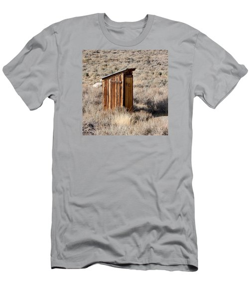 Bodie Outhouse Men's T-Shirt (Slim Fit) by Art Block Collections