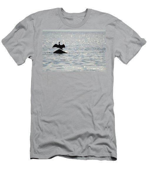 Bokeh Men's T-Shirt (Slim Fit) by Randi Grace Nilsberg