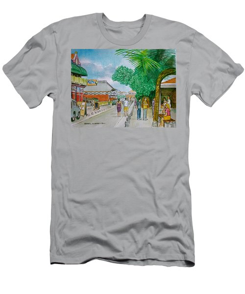 Bonaire Street Men's T-Shirt (Athletic Fit)
