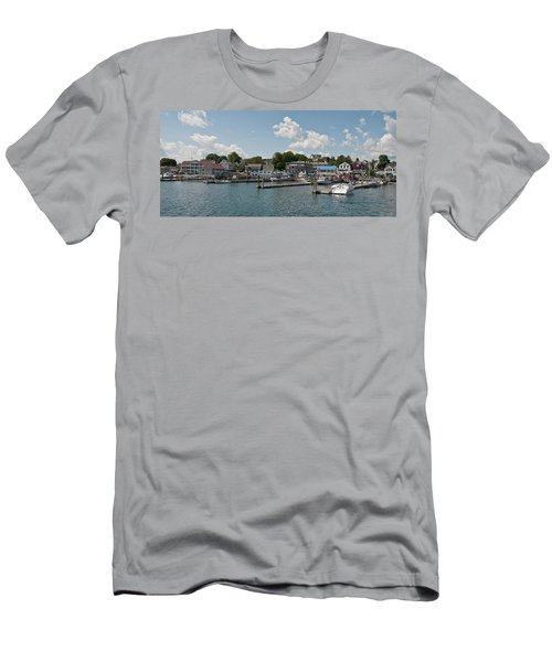 Boothbay Harbor 1242 Men's T-Shirt (Athletic Fit)