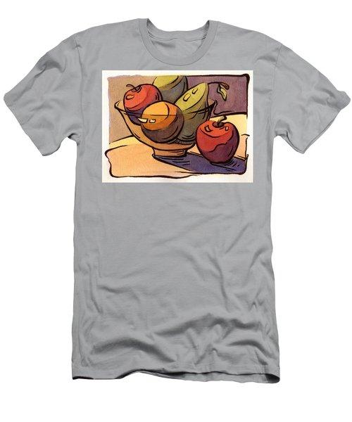 Bowl Of Fruit 8 Men's T-Shirt (Athletic Fit)