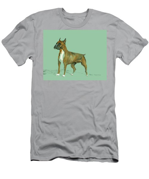 Boxer Men's T-Shirt (Slim Fit) by Terry Frederick