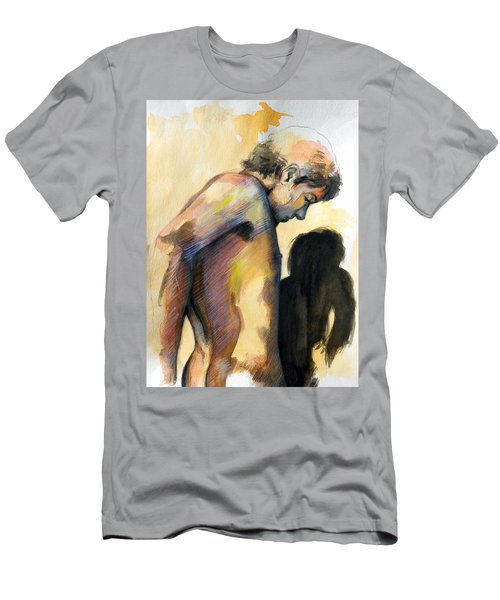 Boy Looking For Truth Men's T-Shirt (Athletic Fit)