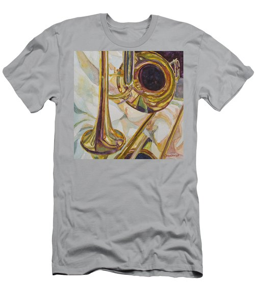 Brass At Rest Men's T-Shirt (Athletic Fit)