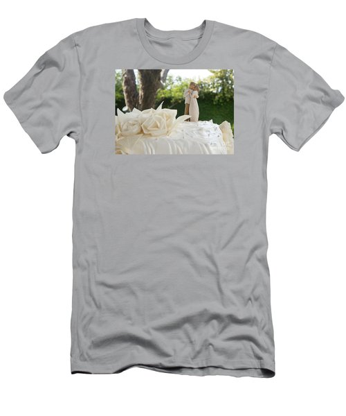 Bride And Groom Men's T-Shirt (Athletic Fit)