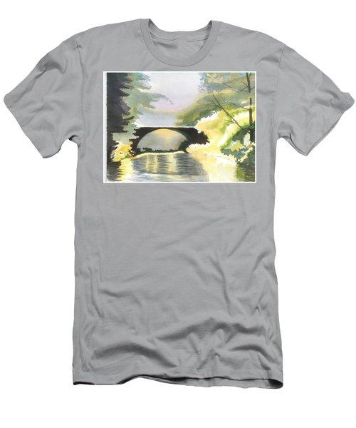 Bridge In Shadows Men's T-Shirt (Athletic Fit)