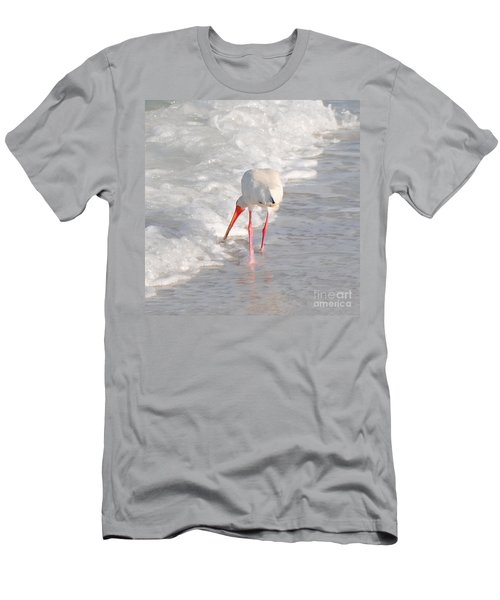 Men's T-Shirt (Slim Fit) featuring the photograph Bringing Up The Rear by Margie Amberge