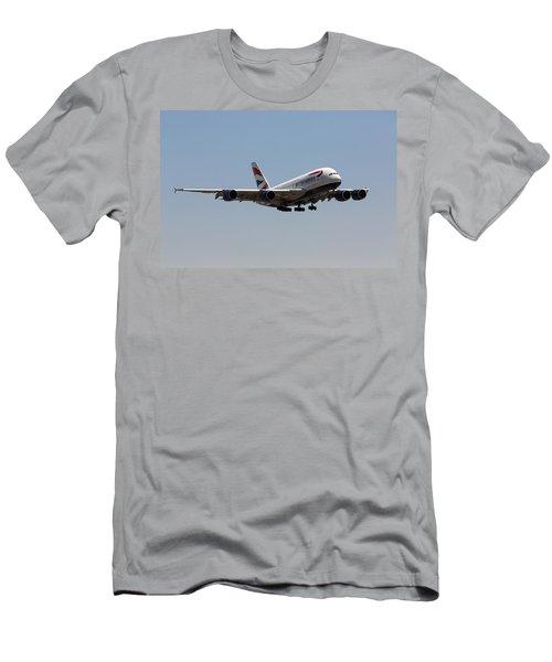 British Airways A380 Men's T-Shirt (Athletic Fit)