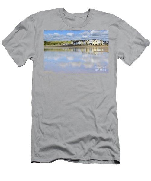Broad Haven Clouds Men's T-Shirt (Athletic Fit)
