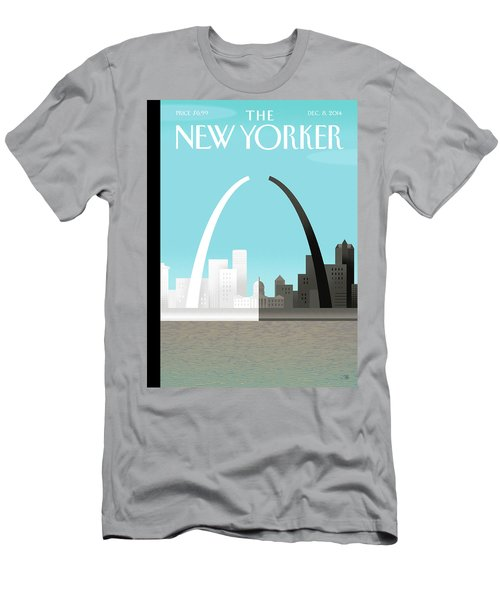 Broken Arch. A Scene From St. Louis Men's T-Shirt (Athletic Fit)