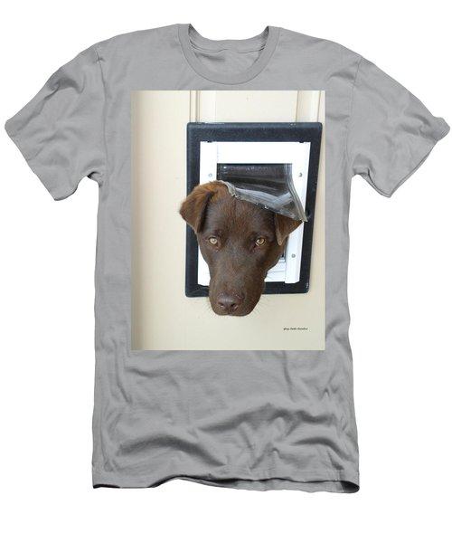 Brown Dog Men's T-Shirt (Athletic Fit)