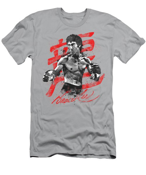 Bruce Lee - Ink Splatter Men's T-Shirt (Athletic Fit)