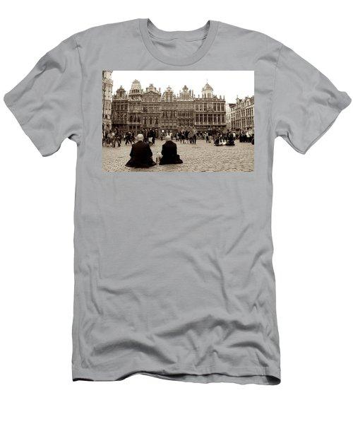 Brussel's Trance Men's T-Shirt (Athletic Fit)
