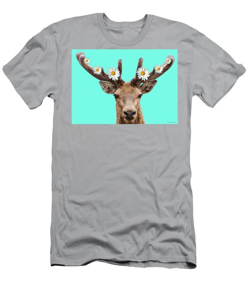 Buck Deer Art - Dont Shoot Men's T-Shirt (Athletic Fit)