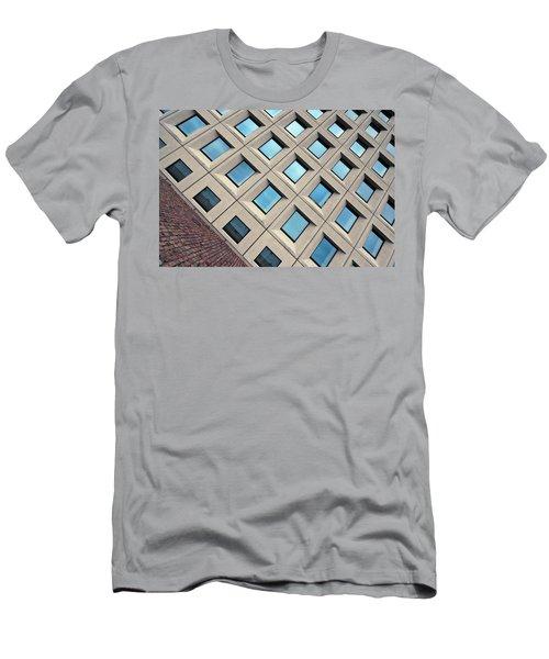 Building Of Windows Men's T-Shirt (Athletic Fit)