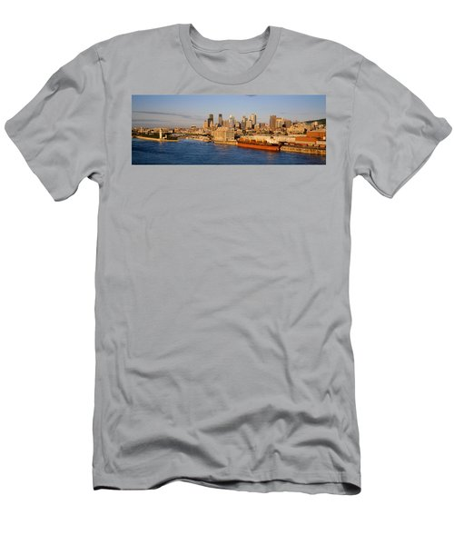 Buildings At The Waterfront, Montreal Men's T-Shirt (Athletic Fit)