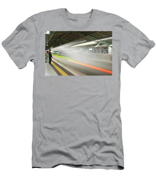 Bullet Train Men's T-Shirt (Athletic Fit)