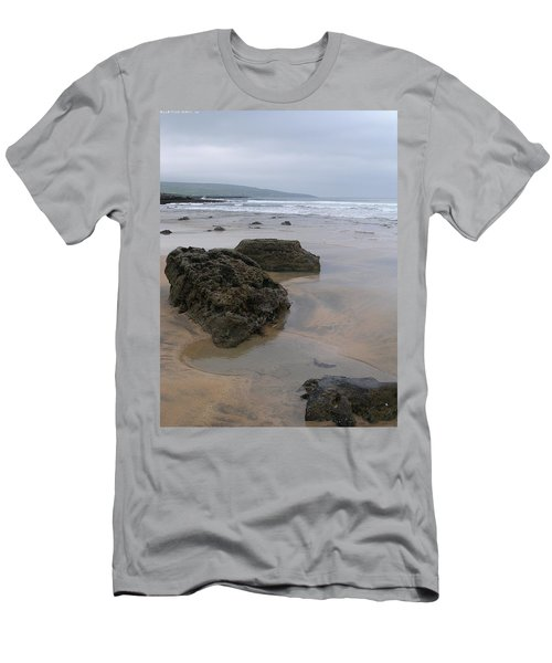 Buren Gold Beach Men's T-Shirt (Athletic Fit)