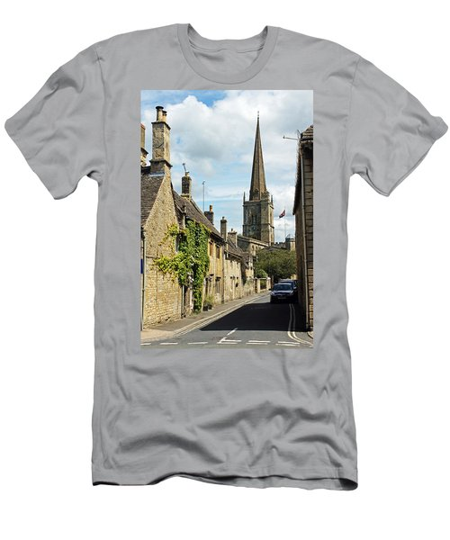 Burford Village Street Men's T-Shirt (Athletic Fit)