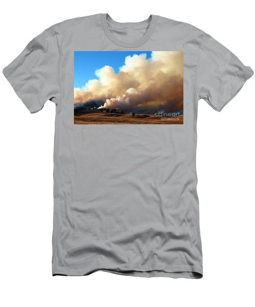 Burning In The Black Hills Men's T-Shirt (Athletic Fit)