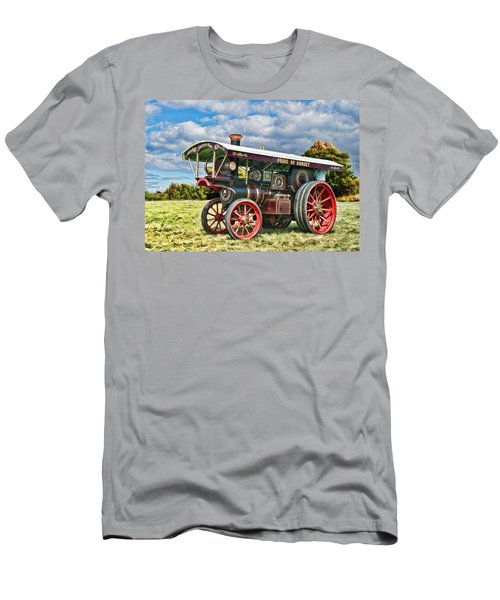 Burrell Showmans Engine Men's T-Shirt (Athletic Fit)