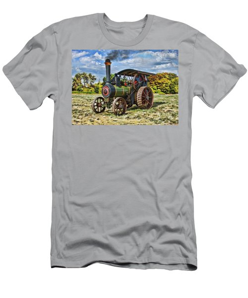 Burrell Steam Engine  Men's T-Shirt (Athletic Fit)