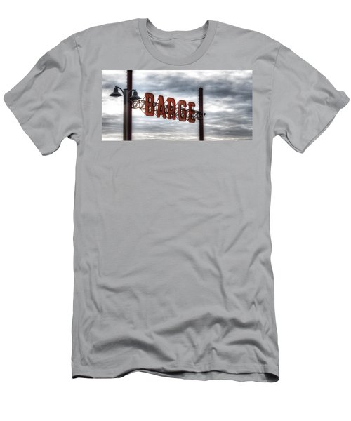 by The Barge Men's T-Shirt (Athletic Fit)