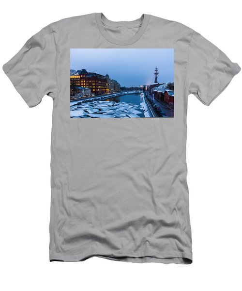 Bypass Canal Of Moscow River - Featured 3 Men's T-Shirt (Athletic Fit)
