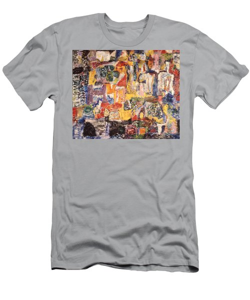 Byzantine Characters #1 Men's T-Shirt (Athletic Fit)