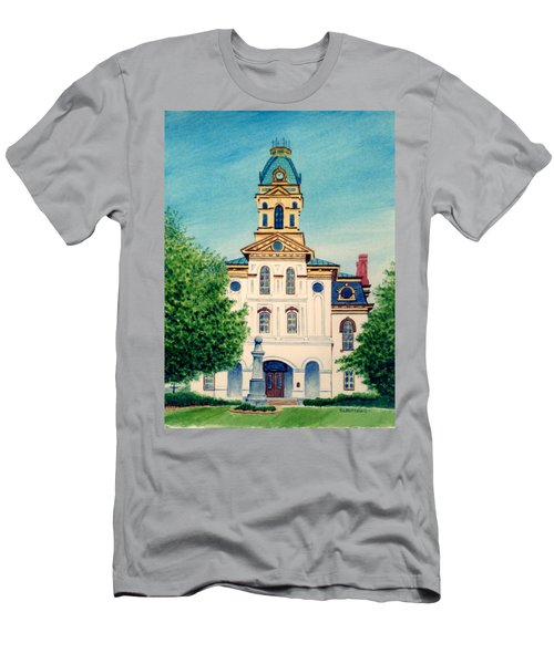 Cabarrus County Courthouse Men's T-Shirt (Athletic Fit)