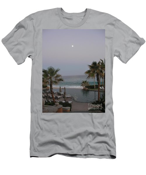 Cabo Moonlight Men's T-Shirt (Slim Fit) by Susan Garren