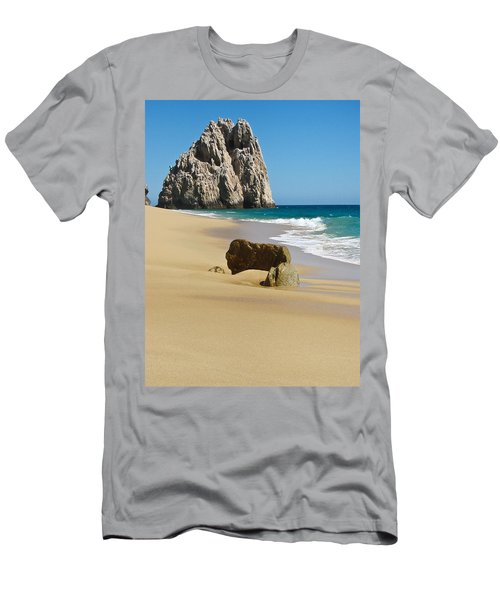 Cabo San Lucas Beach 2 Men's T-Shirt (Athletic Fit)