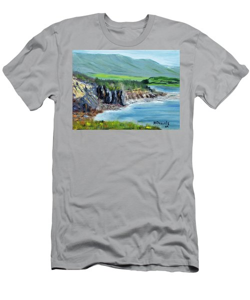 Cabot Trail Coastline Men's T-Shirt (Athletic Fit)