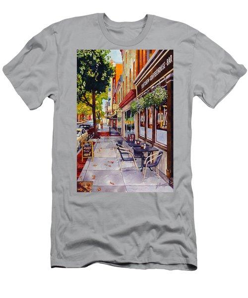 Cafe Nola Men's T-Shirt (Athletic Fit)