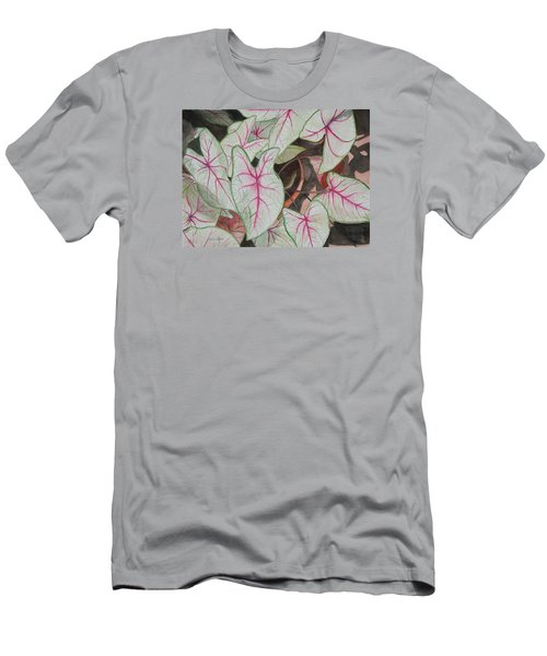 Caladiums Men's T-Shirt (Athletic Fit)