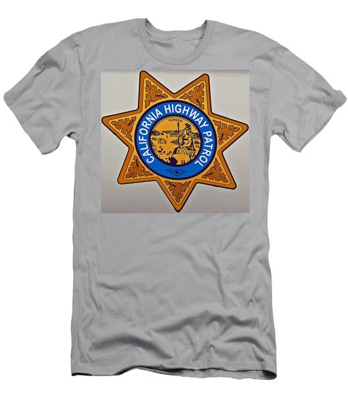 California Highway Patrol Men's T-Shirt (Athletic Fit)