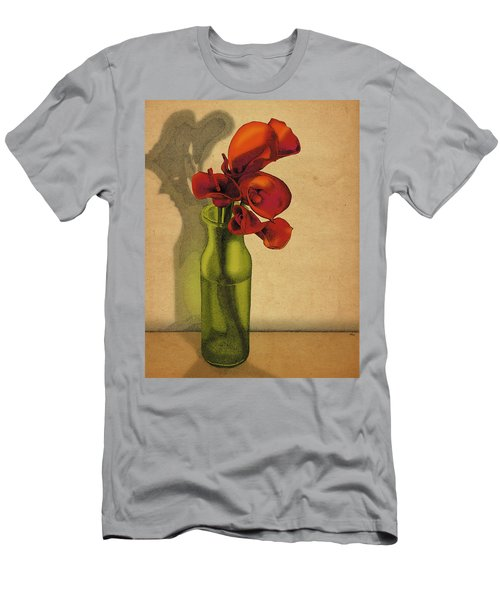 Calla Lilies In Bloom Men's T-Shirt (Slim Fit) by Meg Shearer