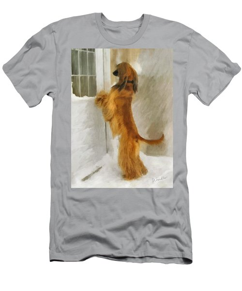 Can I Come In Now? Men's T-Shirt (Athletic Fit)