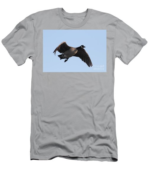 Canada Goose In Flight 7d21951 Men's T-Shirt (Athletic Fit)