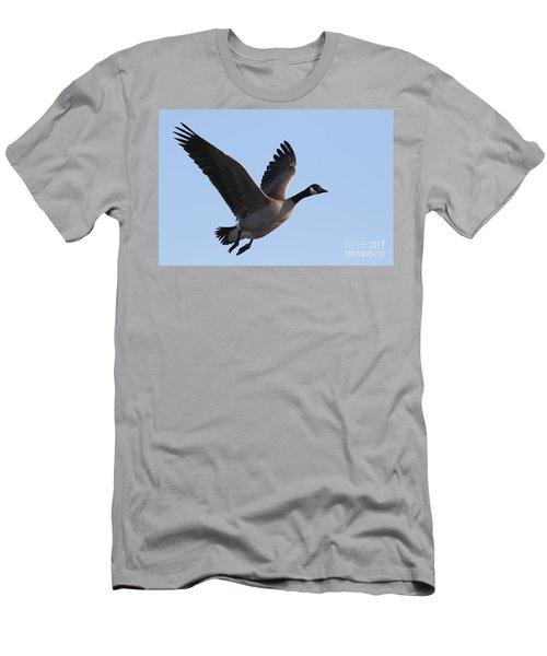 Canada Goose In Flight 7d21955 Men's T-Shirt (Athletic Fit)