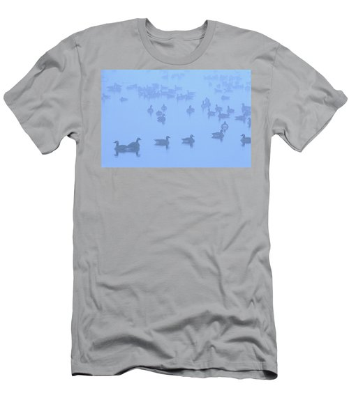 Canadian Geese Men's T-Shirt (Athletic Fit)